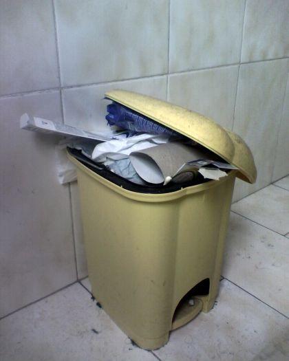 Butta la spazzatura